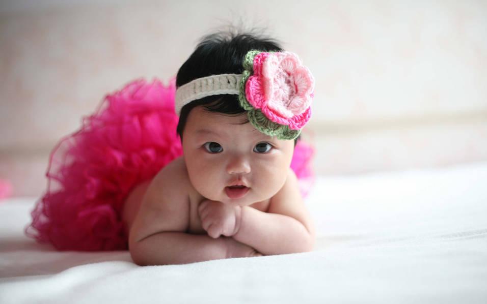 阿拉蕾婴儿照