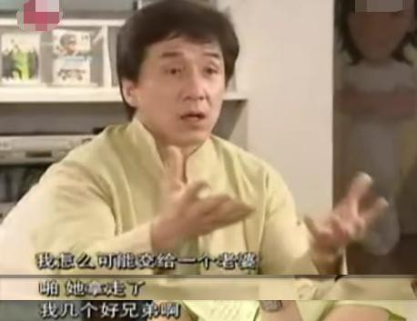 成龍談私生女事件:其實我也不好過,懲罰夠多了
