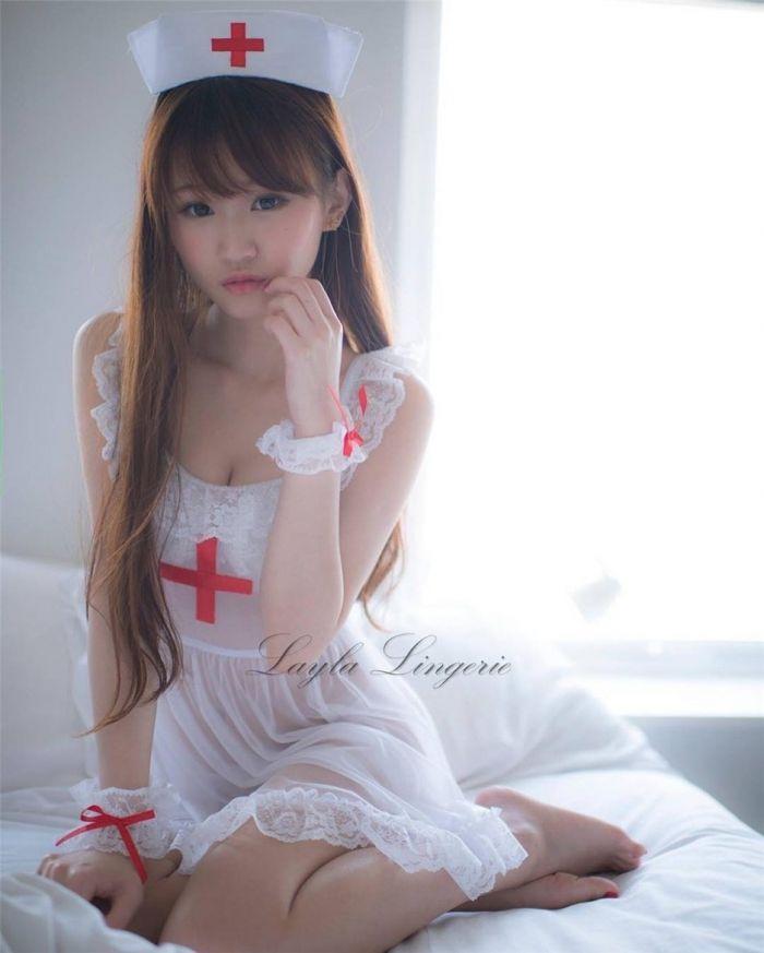 香港最美艷宅男女神,性感的她擁有22寸纖細腰身(多圖)