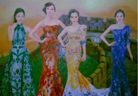 現代人公認的四大美女,Angelabab楊穎無緣上榜(圖)