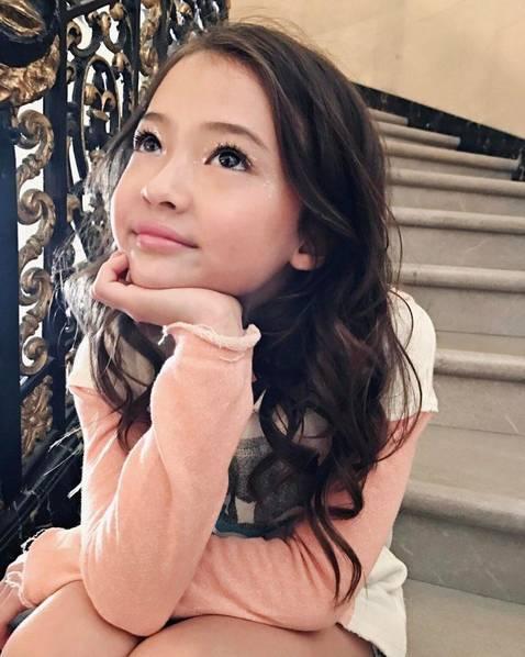 世界上最漂亮的混血兒童模特,看一眼就會愛上她(多圖)