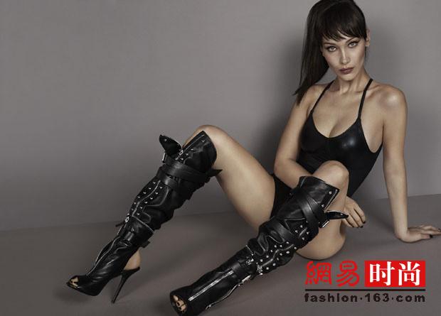性感尤物BELLA拍廣告 大秀超長無敵美腿(多圖)