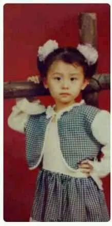 刘诗诗童年照片曝光 她真是从小美到大(组图)