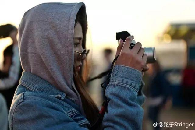 """李茂弦子洛杉矶""""游客照"""",看出男朋友会摄影的重要性"""