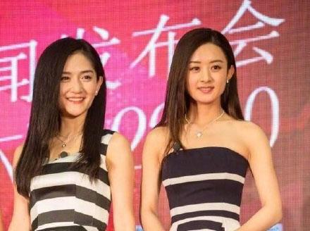谢娜晒与赵丽颖手部合影 展两人亲密友谊