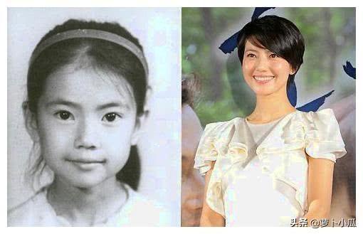 十位女星童年照对比图,看到柳岩,网友:丑小鸭变天鹅是真的!