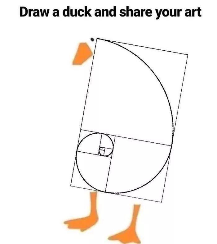 一个画鸭子的挑战,激发了沙雕网友们的巨大脑洞...
