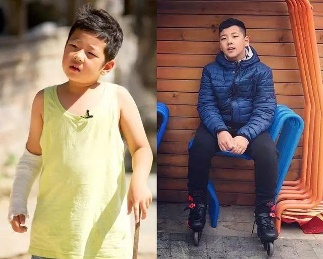 王诗龄长高变胖,天天长高变潮男,《爸爸1》过去6年萌娃变化很大