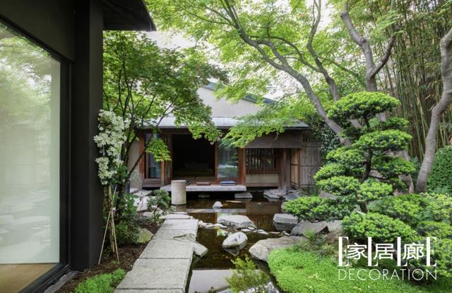 Kenzo创始人在巴黎造了一座日式花园