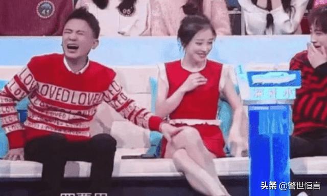 冯提莫上综艺被嘉宾摸大腿19次,不反抗还陪笑吴京是娱乐圈明白人